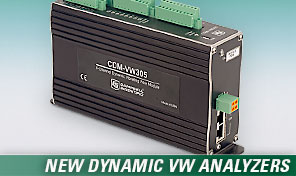 CDM-VW305 Dynamic Vibrating Wire Analyzers.