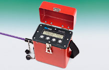 Photo of the Model GK-502 Load Cell Readout Box.